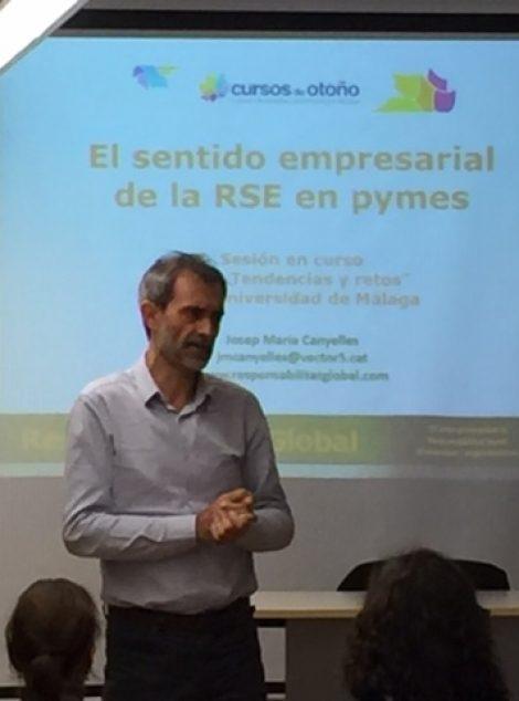 Celebrado Curso Otoño – Responsabilidad Social y Economía Circular: una oportunidad para las PYMEs