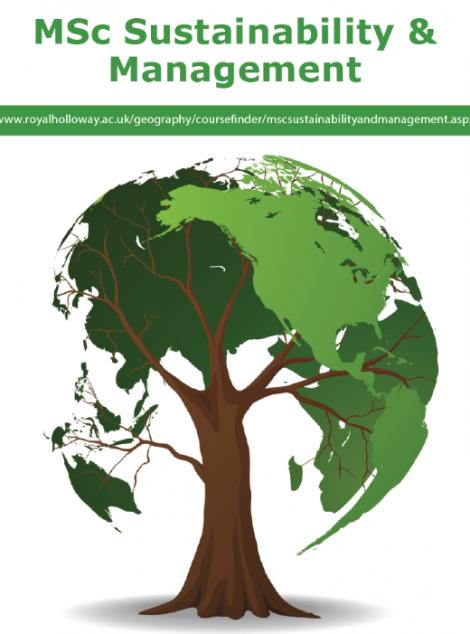 MSc Sustainability & Management en Royal Holloway University of London