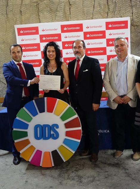 Entregados los Premios Santander de Investigación y Mejor TFM sobre RSC